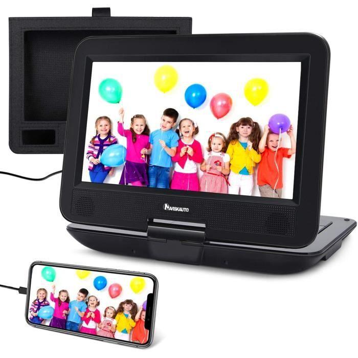 LECTEUR DVD PORTABLE Lecteur DVD Portable Voiture pour Enfant 10.1 Pouce NAVISKAUTO Supporte HDMI Input,Vid&eacuteo Full HD, 20