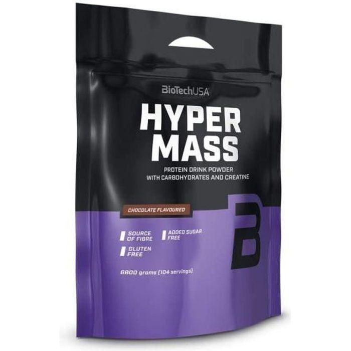Hyper Mass 6800 g Chocolat Biotech USA