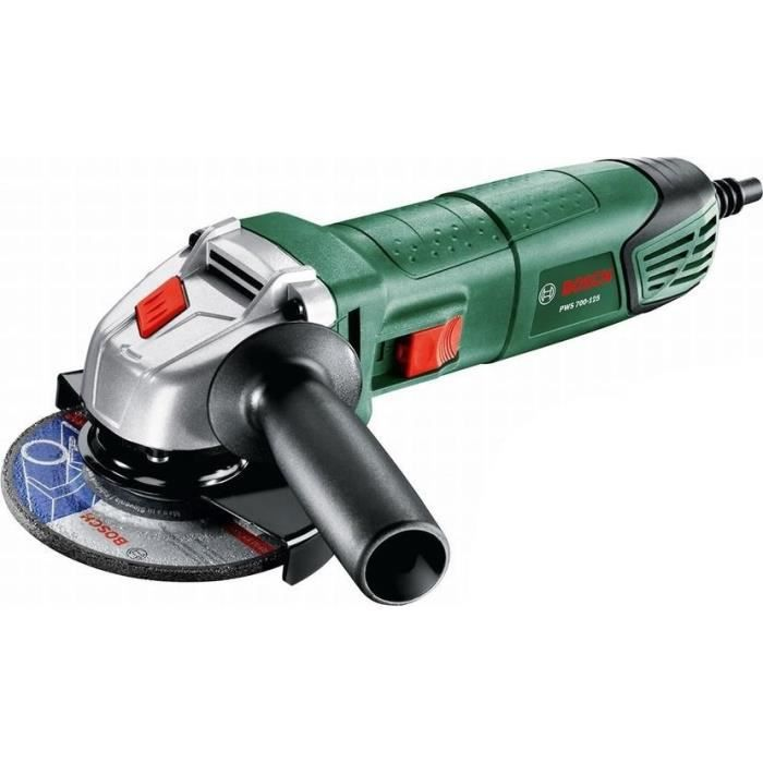 BOSCH Meuleuse angulaire PWS 750-125 - 1 main - 750 W