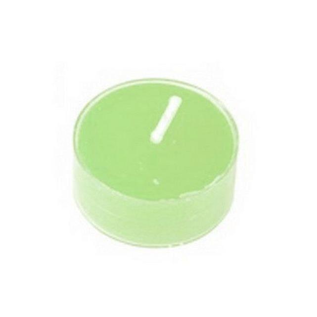 9 Bougies chauffe plat vert d'eau