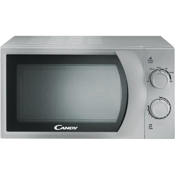 CANDY CMW2070S Micro-ondes pose libre - 20L - 700W - Silver