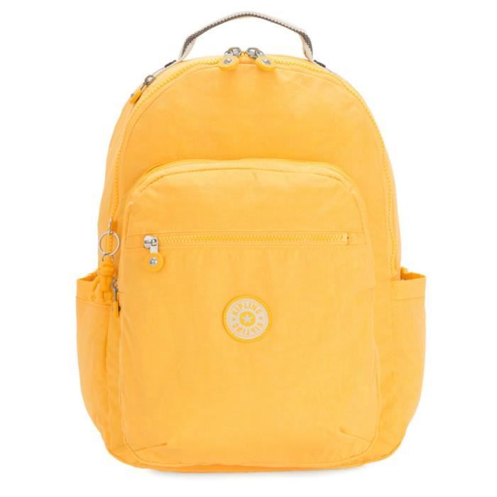 kipling Basic Seoul Backpack L Vivid Yellow [87991]