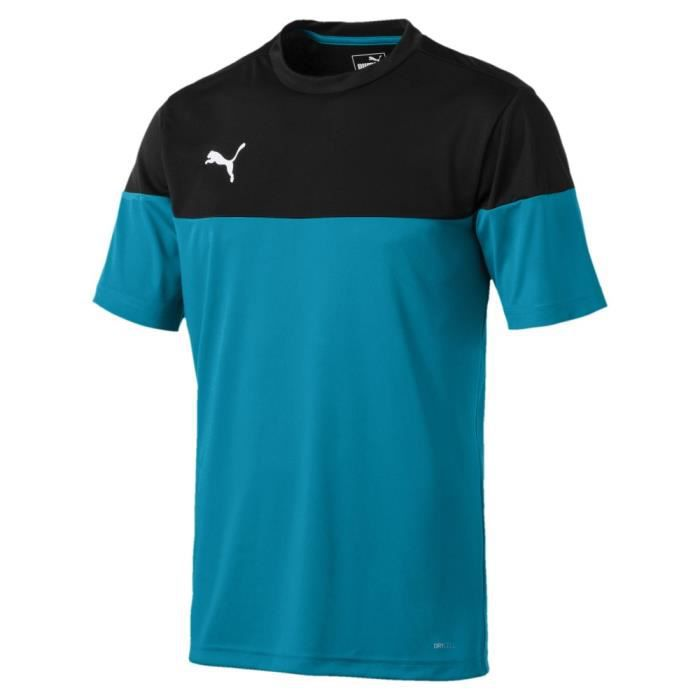 Maillot de sport Noir et Turquoise Homme Puma ftblPLAY