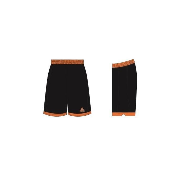 PEAK Short Streetball Orange / Noir