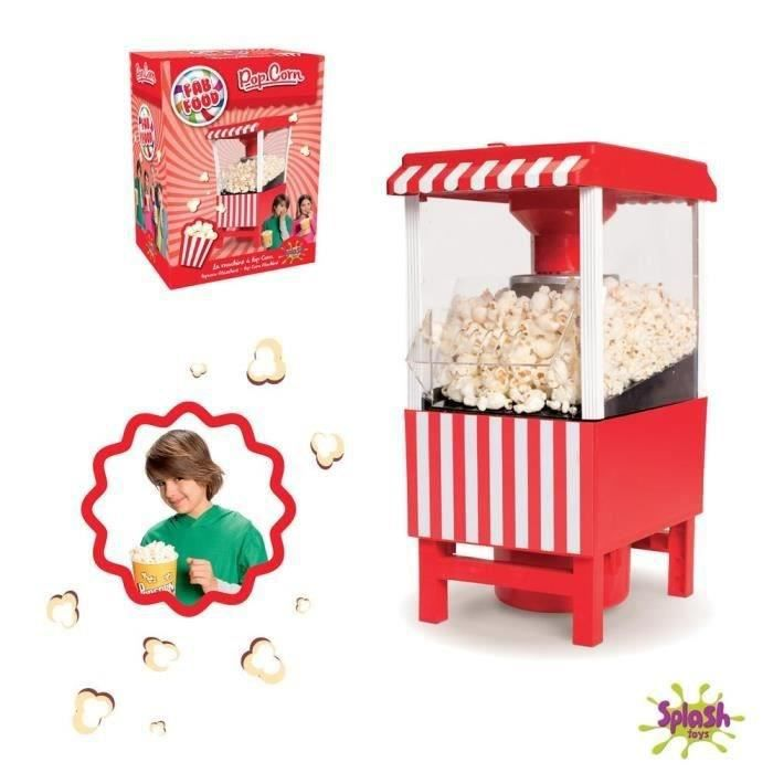 SPLASH TOYS Machine à pop corn Fab Food Popcorn Maker