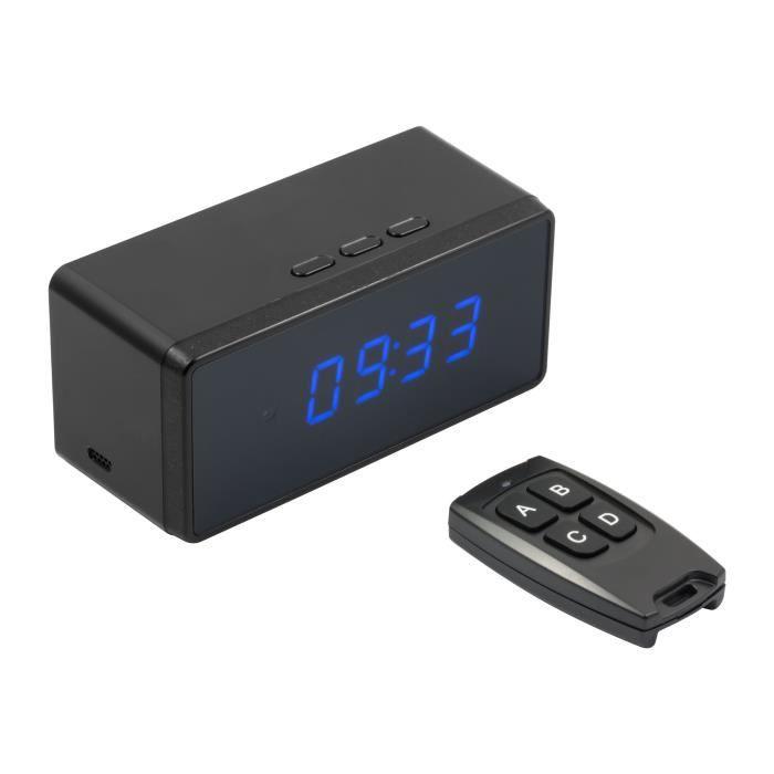 Technaxx Desk Clock with FullHD Camera TX-76 Caméra de surveillance réseau intérieur couleur (Jour et nuit) 2 MP 1920 x 1080…