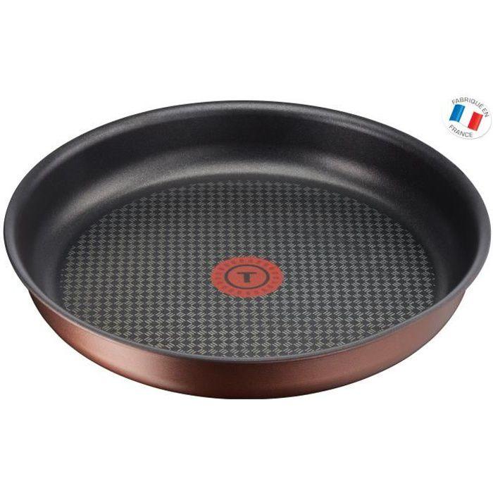 TEFAL L6750403 Poêle 24 cm INGENIO ECO-RESPECT - Tous feux dont induction - Poignée vendue séparément