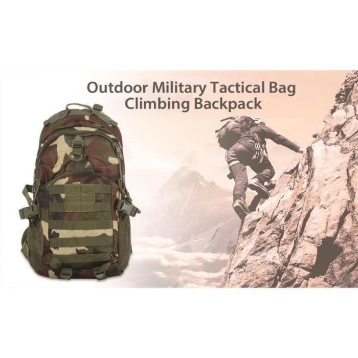 WS23175-35L tactique militaire Sac à dos Molle Sac à dos étanche Outdoor Sac à dos pour la randonnée Camping Trekking Chasse