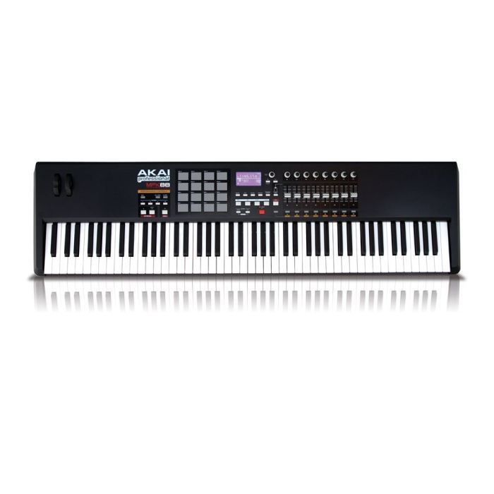 clavier maitre midi usb midi akai mpk88 toucher pas cher achat vente clavier musical. Black Bedroom Furniture Sets. Home Design Ideas