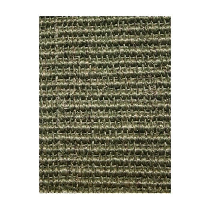 sisal manaus care vert 200x200 par dezenco tapis naturel achat vente tapis cdiscount. Black Bedroom Furniture Sets. Home Design Ideas