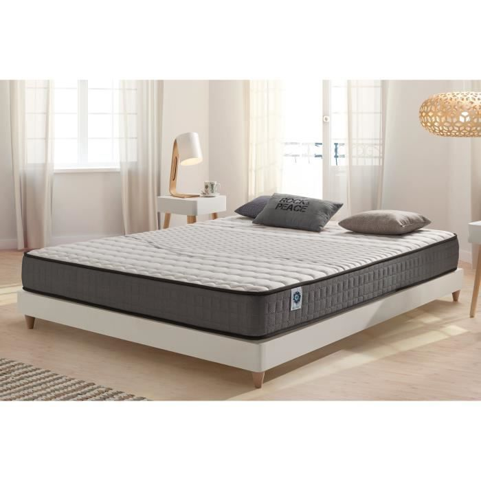 matelas visco elastic 90x200 cm blue latex 7 zones. Black Bedroom Furniture Sets. Home Design Ideas