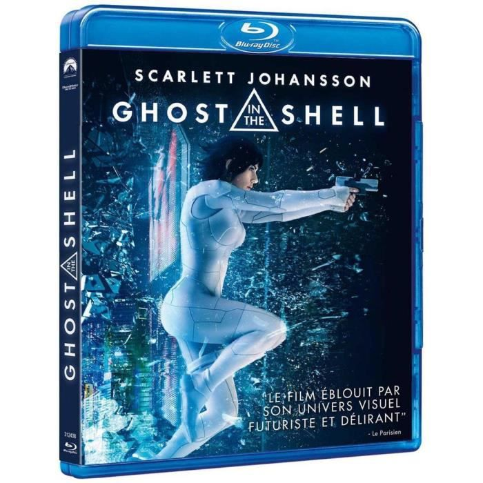BLU-RAY FILM Ghost in the Shell Bluray