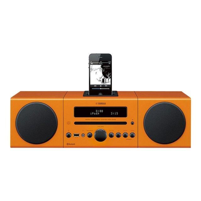 micro cha ne yamaha mcr b142 orange chaine hi fi avis. Black Bedroom Furniture Sets. Home Design Ideas
