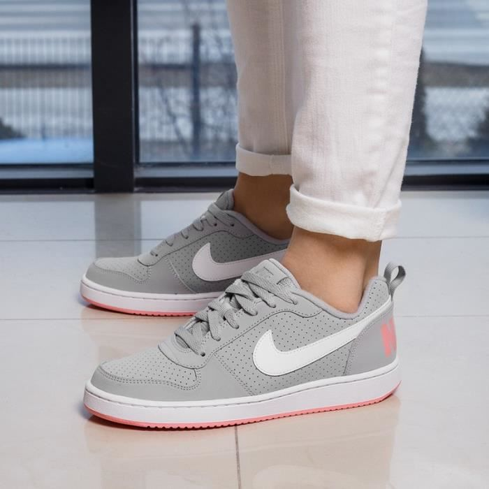 BASKETS NIKE COURT BOROUGH LOW845104001