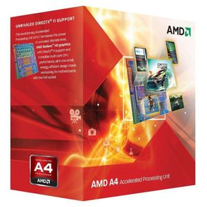 PROCESSEUR AMD A4 3300 2.5GHz
