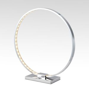 LAMPE A POSER Lampe à poser  chrome LED - Collection Circle