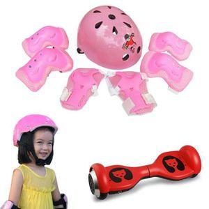 PROTECTION CADRE 7pcs Kid enfant auto équilibrage vélo genou coude
