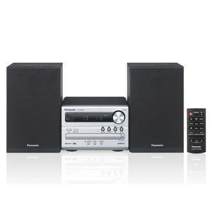 CHAINE HI-FI Chaine Hi-fi MP3 Bluetooth 20W argent - CD, CD-R,