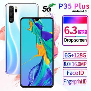 SMARTPHONE Blanc P35 PLUS 6.3