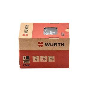 VIS - CACHE-VIS Würth ASSY 3.0en acier galvanisé filetage Vis à a