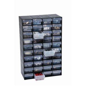 ETABLI - MEUBLE ATELIER Armoire de rangement en plastique a 40 tiroirs pou