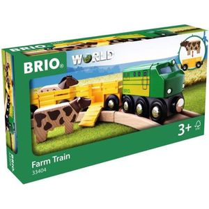 VÉHICULE CIRCUIT BRIO World - 33404 - Train Des Animaux De La Ferme