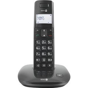 Téléphone portable DORO Téléphone sans fil Comfort 1010 - DECT - Noir