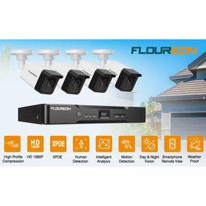 CAMÉRA DE SURVEILLANCE Caméra de surveillance FLOUREON - Kit Caméra de sé