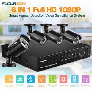 CAMÉRA DE SURVEILLANCE Kit de Caméra de Surveillance FLOUREON 1*8CH HD 10