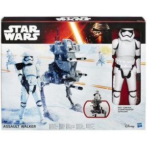 FIGURINE - PERSONNAGE Star Wars E7 - Figurine 30 cm et Véhicule