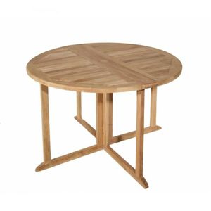 Table a rabat achat vente table a rabat pas cher soldes cdiscount - Table ronde modulable ...