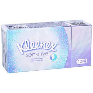 MOUCHOIR EN PAPIER KLEENEX Sensitive 12 paquets de mouchoirs