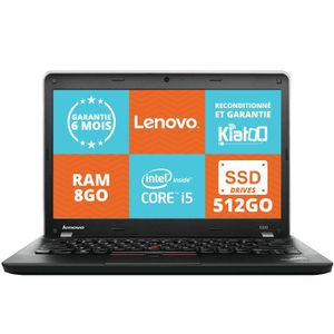ordinateur portable lenovo thinkpad 13 i5 8go prix. Black Bedroom Furniture Sets. Home Design Ideas