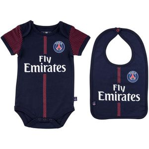 MAILLOT DE FOOTBALL Body + bavoir Maillot domicile PSG - Collection of