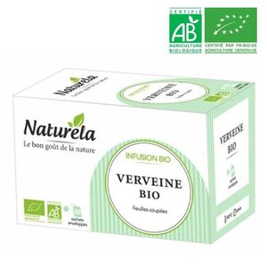 THÉ Naturela Infusion Verveine Infusettes  20 x 1,6g B
