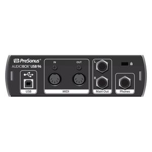 INTERFACE AUDIO - MIDI Presonus AudioBox USB 96 - Interface audio