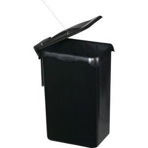 POUBELLE - CORBEILLE Poubelle de placard portasac - Noir - 23 L