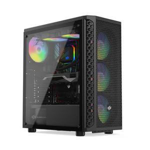 UNITÉ CENTRALE  PC Gamer, Intel i5, GTX1660Ti, 500Go SSD NVMe M.2