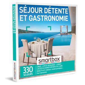 COFFRET SÉJOUR SMARTBOX - Coffret Cadeau - Séjour détente et gast