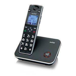 Téléphone portable SWITEL D7000 Téléphone sénior sans fil avec touche
