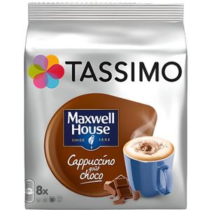 CAFÉ Tassimo - Tassimo Maxwell House Cappucino Choco (l