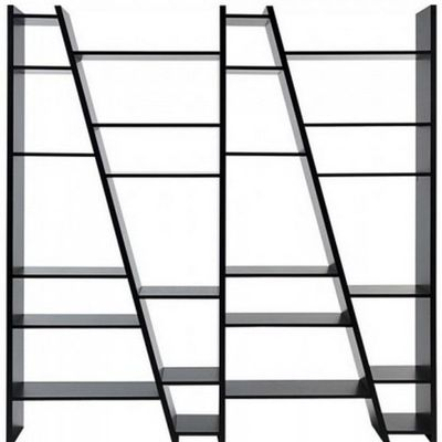etagere de rangement 4 ladders blanche. Black Bedroom Furniture Sets. Home Design Ideas