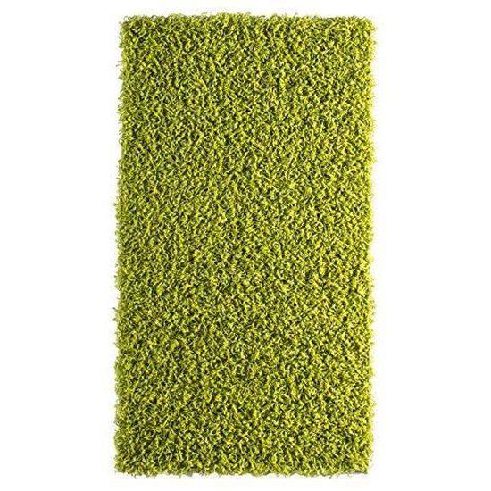 Polypropylène Andiamo 1100017 Tapis Vannes vert 57 x 57 cm