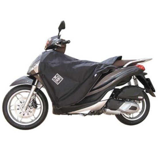 250 mp3 2008+ Tablier Couvre Jambe Tucano pour Piaggio 125 mp3 2006+ 300 mp3 2012+ 400 mp3 2008+ Noir
