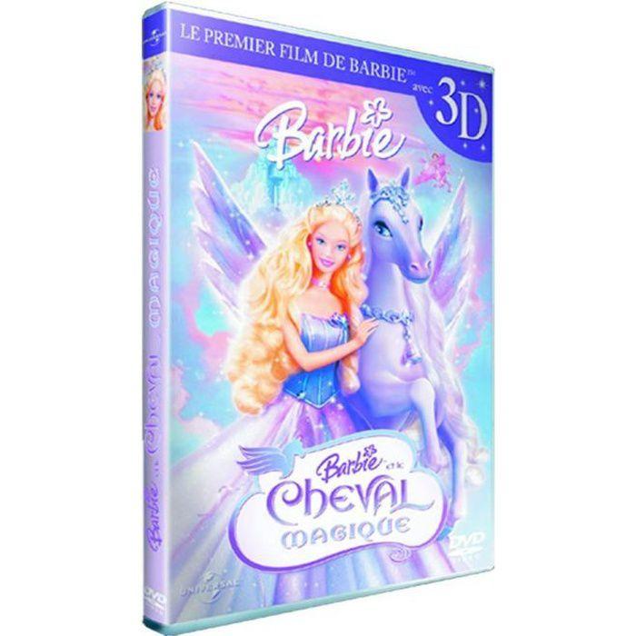 DVD DESSIN ANIMÉ DVD Barbie et le cheval magique