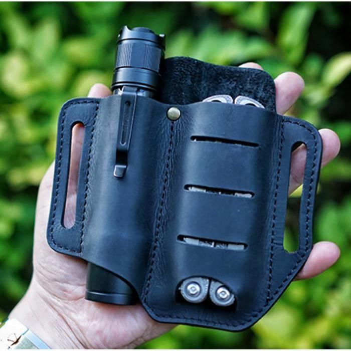Ensemble d'outils portables pour survie en plein air, taille suspendue, sac de ceinture pour hommes
