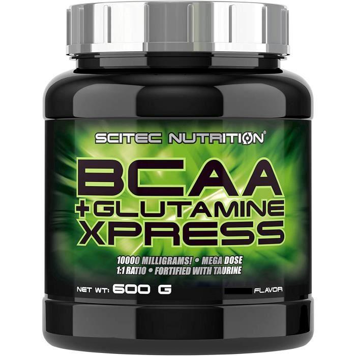 Vitamines, minéraux et compléments Scitec Nutrition Acides Aminés BCAA + Glutamine Xpress Lime 600 g 771299
