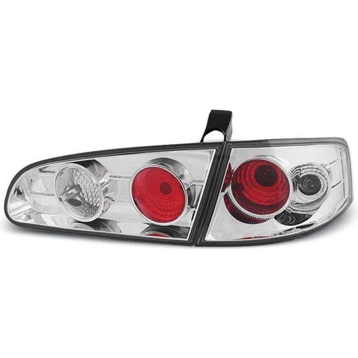 Paire de feux arriere Seat Ibiza 6L 02-08 chrome