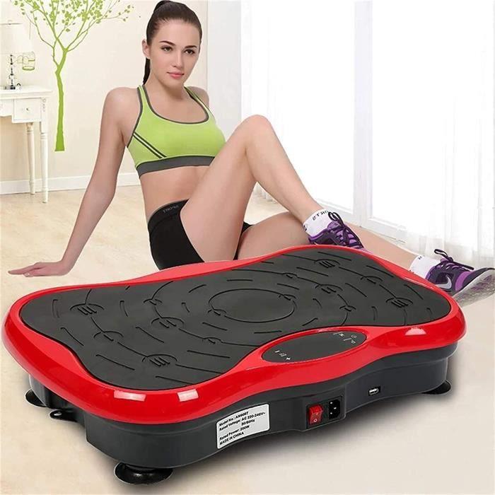 PLATEFORME VIBRANTE - PLAQUE VIBRANTE YYCHJU Plateforme Vibrante Oscillante pour Fitness Machine &agrave la Machine Minceur, 177