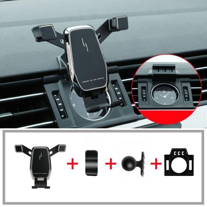 Supports voiture,Support de téléphone portable pour Volkswagen passat b8, arteon, variante 2016, 2017, 2018, 2019 - Type black